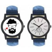 E-Smart 407-410 Dial analogue Watch Combo for men Watch - For Men