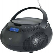 Majestic Ah-264 Dab Boombox Radio Stereo Digitale Dab Lettore Cd Mp3 Aux Nero Ah-264 Dab