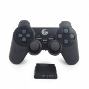 Gembird Wireless dual vibration gamepad, PS2/PS3/PC JPD-WDV-01