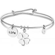Lotus Style Brățară din oțel solid Happy Life LS2019-2 / 5