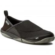 Обувки HELLY HANSEN - Watermoc 2 111-21.991 Jet Black/Ebony/New Light Grey/Silver