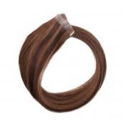 Rapunzel® Extensions Naturali Quick & Easy Original Liscio M2.3/5.0 Chocolate Mix 40 cm