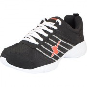 Sparx Men's Black White Mesh Training/Walking/Training/Gym Shoes