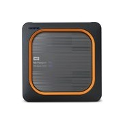 WD My Passport Wireless WDBAMJ0020BGY-PESN 2 TB Network Solid State Drive - External - Portable