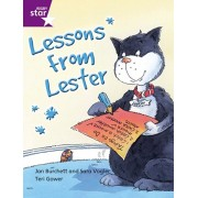 Rigby Star Independent Year 2 Purple Fiction Lessons From Lester Single, Paperback/***