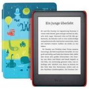 Електронен четец Kindle Kids Edition, 10 Generation – 2019, 6 инча, 8GB, достъп до повече от хиляда книги, Space калъф
