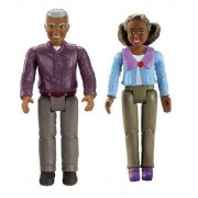 Fisher Price Loving Family African American GRANDMA AND GRANDPA