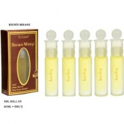 Al-Nuaim 40ML Brown Mirage Attar 100 Percent Original And Alcohol Free Concentrated Perfume Oil Scent For Men Women