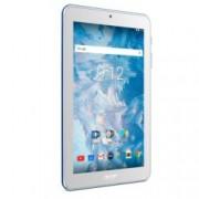 """Таблет Acer Iconia B1-7A0 (NT.LELEE.004)(син), 7"""" (17.78 cm) WSVGA IPS дисплей, четириядрен MTK MT8167 1.30 GHz, 1GB DDR3L, 16GB Flash памет (microSD слот), 2.0 & 0.3 Mpix camera, Android, 270g"""