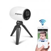 Anpwoo Cannon 1.3MP 960 P 1/3-inch CMOS HD WiFi IP-Camera met statief houder de opsporing van de motie van de steun / Night Vision (wit)