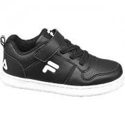 Fila Zwarte sneaker klittenband 23