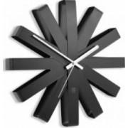 Ceas de perete Umbra Ribbon negru