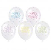 Baby Shower Ballonger Pastell