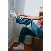 Converse - Baskets montantes Chuck Taylor All Star blanches- taille: UK 3