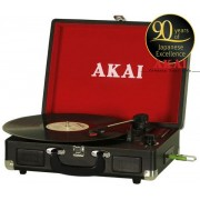 Pick-up Akai ATT-E10, USB/SD Player, difuzoare incorporate (Negru)