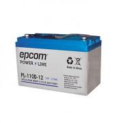 Batería alto rendimiento Epcom PL-110-D12 12V/110AH, VRLA AGM