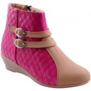 Adorn Active Cool and Trendy Boots For Women(Pink)