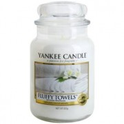 Yankee Candle Fluffy Towels scented candle Classic Large 623 g