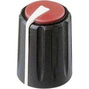 Buton rotativ Flexifit, Ø ax 7,5 mm, negru, tip F 311 S 092
