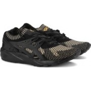 Asics TIGER GEL-KAYANO TRAINER KNIT Training & Gym Shoes For Men(Black, Gold)