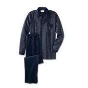 NOVILA Gentleman-Pyjama, Blau, 56 - Blau