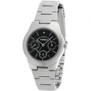 Timex E-Class Analog Black Dial Womens Watch - J104