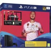 Consola SONY PlayStation 4 Pro 1TB + Joc FIFA 20 + PS Plus 14 zile + Voucher FIFA UltimateTeam