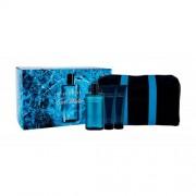 Davidoff Cool Water set cadou Apa de toaleta 125 ml + Balsam dupa ras 75 ml + Gel de dus 75 ml + Geantă cosmetica pentru bărbați