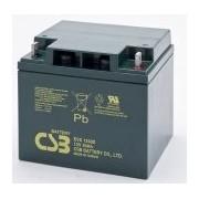 Batería para silla de ruedas 12v 40ah plomo agm EVX-12400 CSB