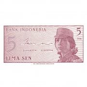 Bani de pe mapamond nr.34 - 10 HALERI CEHIA - 5 SENI INDONEZIA
