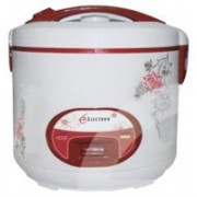 ATM ATM_3in1 Rice Cooker, Food Steamer, Travel Cooker(1.8 L, White, Pink)