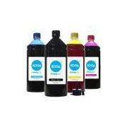 Kit ValeJet 4 Tintas para Epson L395 Bulk Ink CMYK Corante 1 Litro Koga