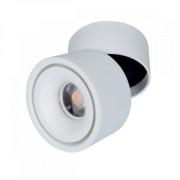 LED fényvető , mennyezetre szerelhető , 15 Watt , billenthető , 24° , hideg fehér , fehér , Elmark