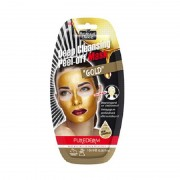 PureDerm Deep Cleansing Peel-Off Gold Mask - 10ml