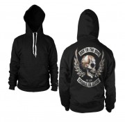 Bad To The Bone Backprinted Hoodie