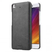 MOFI Xiaomi Mi 5s Crazy Horse Texture Leather Surface PC Protective Case Back Cover (Black)