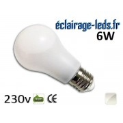 Ampoule Led E27 liquide 6W blanc Naturel IP65 230v