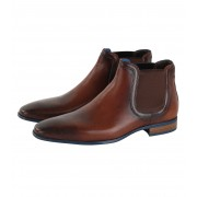Giorgio Pampas Chelsea Boot Cognac - Cognac 45