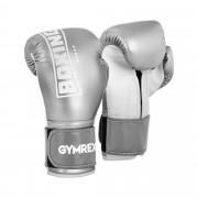 Gants de boxe - 12 oz - Blanc et argent, fini métallique