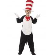 Childs Dr. Seuss Cat In The Hat Costume - MEDIUM
