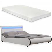 """Corium® Čalouněná postel """"Valencia"""" HTB-1039 a matrace - 200 x 140 cm"""