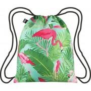 Plecak LOQI Wild Flamingos