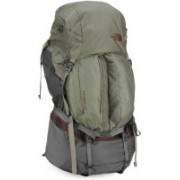 The North Face FOVERO 70 Rucksack - 78 L(Green, Grey)