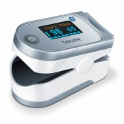 Pulzoximéter gyerekeknek, felnőtteknek Bluetooth kapcsolattal, Beurer PO60/61