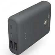 Външна батерия HAMA Supreme 10HD, 10000 mAh, LiPolym, USB-A/USB-C, Сив, HAMA-188307