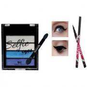 Selfie 5 in 1 Shimmer Eye Shadow-04 With 1 Sketch Eye Liner