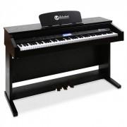 SCHUBERT Piano électrique 88 touches noir MIDI 3 pédales