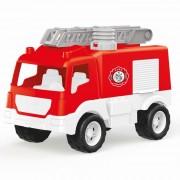 Masina de pompieri Dolu, scara de incendiu, pompa pentru apa functionala, 38 cm