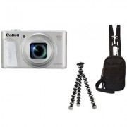 Canon Aparat CANON PowerShot SX730 HS Srebrny Travel kit