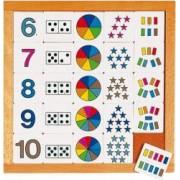 Joc educativ pentru gradinita Diagrama de la 6 la 10 - Educo